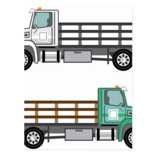 Farm Truck Postcard