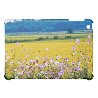 Farm village, fall flowers cover for the iPad mini