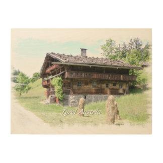 Farm Wood Canvas