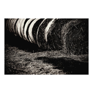 Farm work photo print