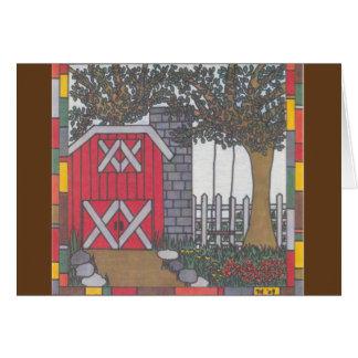 Farm Yard Blank Card