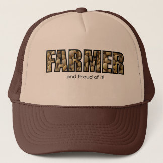 Farmer and Proud of it! Trucker Hat