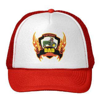 Farmer Dad Fathers Day Gifts Trucker Hat