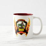 Farmer Dad Fathers Day Gifts Two-Tone Mug