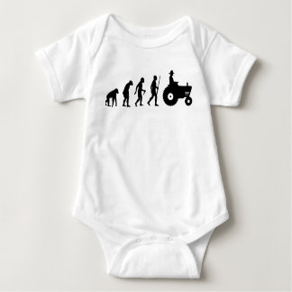 Farmer evolution baby bodysuit