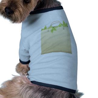 Farmer Market Bag ~ Vegetable Greens Template Doggie T Shirt