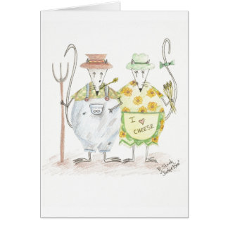 Farmer Mouse Note Cards