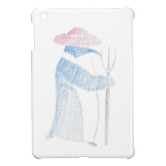 Farmer Penguin iPad Mini Covers