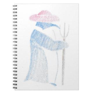 Farmer Penguin Notebook