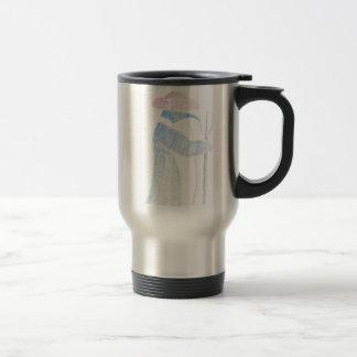 Farmer Penguin Travel Mug