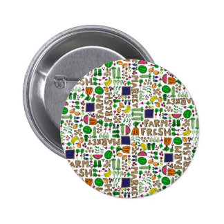 Farmer s Market Medley Buttons