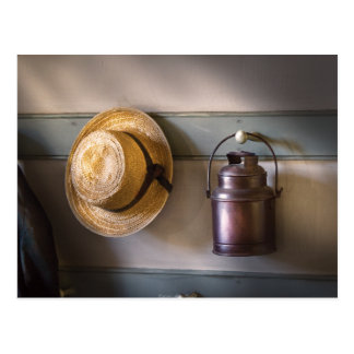 Farmer -  The coat rack Postcard