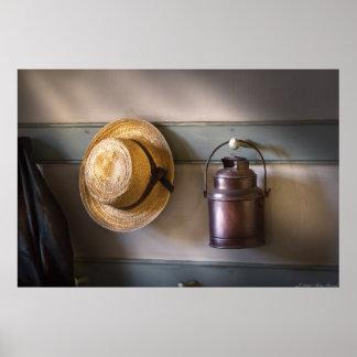 Farmer -  The coat rack Poster