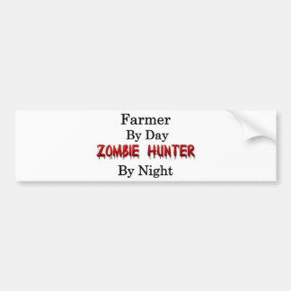 Farmer/Zombie Hunter Bumper Sticker