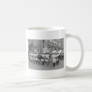 Farmerettes Sell WW1 Bonds, 1910s Basic White Mug