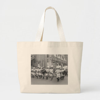 Farmerettes Sell WW1 Bonds, 1910s Jumbo Tote Bag