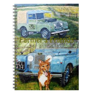 Farmer's Friends Note Book Journal