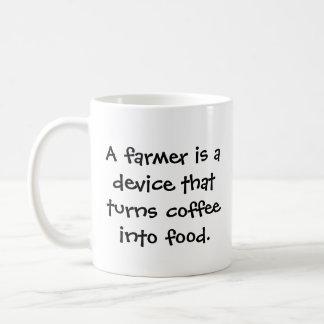 Farmer's funny coffee mug