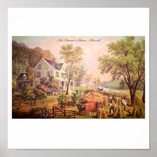 Farmer's Home Harvest Poster