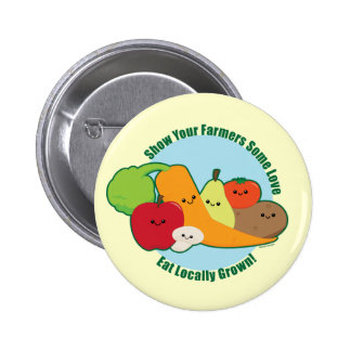 Farmers Market 6 Cm Round Badge