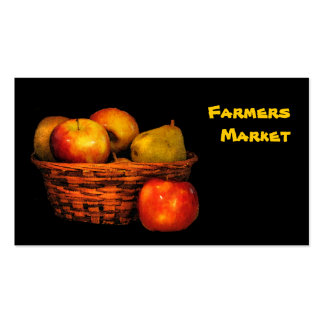 Farmers Market Apples and Pears Pack Of Standard Business Cards