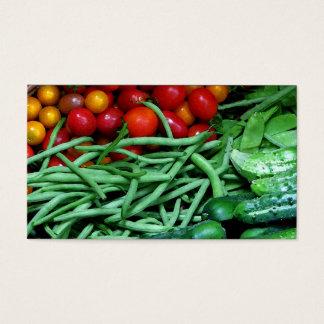 Farmers Market Business Card
