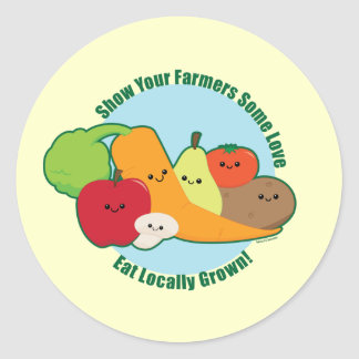 Farmers Market Classic Round Sticker