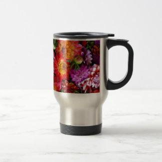 Farmers market flowers coffee mugs