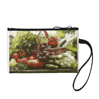 Farmers Market Fresh Fruits and Vegetables Coin Purse