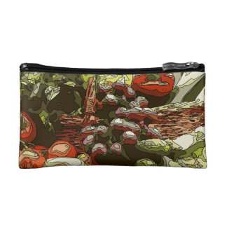 Farmers Market Fresh Fruits and Vegetables Cosmetic Bag
