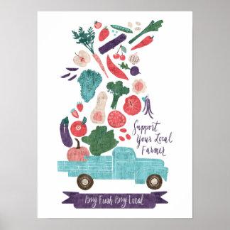 Farmer's Market Fresh Print