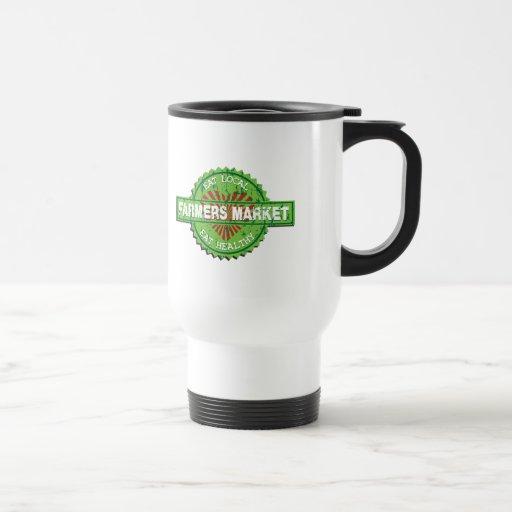 Farmers Market Heart Coffee Mugs