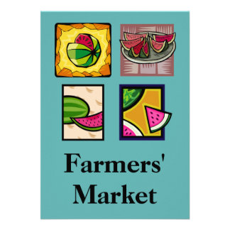 Farmers Market Personalized Invitation