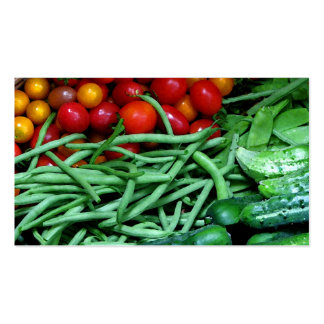 Farmers Market Pack Of Standard Business Cards