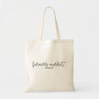 Farmer's Market - Shop Local Tote Bag