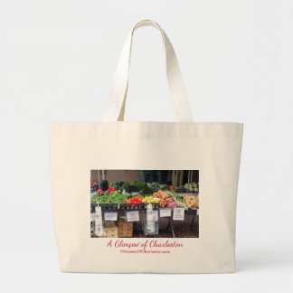Farmers Market Tote Bag -- Large