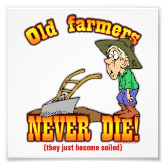 Farmers Photo Print