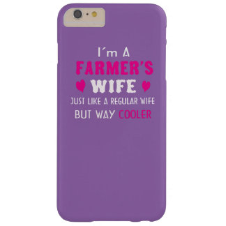 Farmer's Wife Barely There iPhone 6 Plus Case