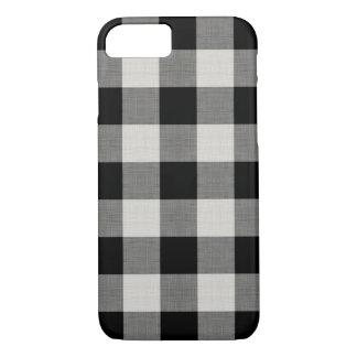 Farmhouse Black Buffalo Check iPhone 8/7 Case