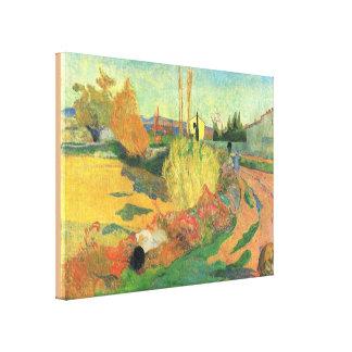 Farmhouse From Arles by Paul Gauguin Canvas Print