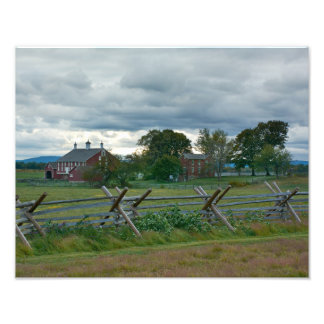 Farmhouse - Gettysburg National Park - PA Photograph