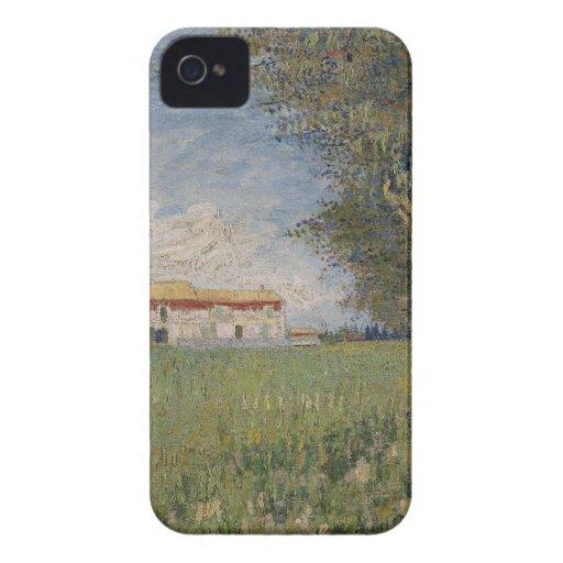Farmhouse in a wheat BlackBerry Bold Case
