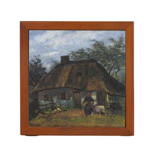 Farmhouse in Nuenen by Vincent Van Gogh Pencil/Pen Holder
