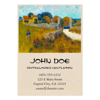 Farmhouse in Provence by Vincent Van Gogh Pack Of Chubby Business Cards