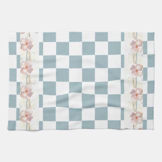 Farmhouse Kitchen Country Checkerboard Shabby Chic Tea Towel