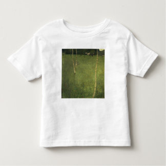Farmhouse with Birch Trees, 1900 Toddler T-Shirt