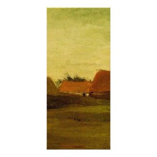 Farmhouses in Loosduinen near The Hague at... Customized Rack Card