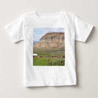 Farming country and hills, southern Utah Baby T-Shirt
