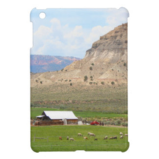 Farming country and hills, southern Utah iPad Mini Covers