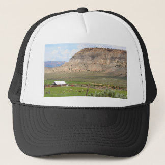 Farming country and hills, southern Utah Trucker Hat